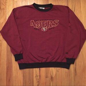 Vintage San Francisco 49ers sweatshirt 90s NFL